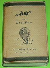 """KARL MAY - BAND 34 """" ICH """" mit SCHUTZUMSCHLAG / FEHSENFELD - RADEBEUL 61.- 65.T."""