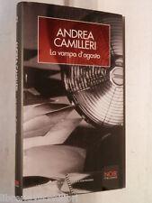 LA VAMPA D AGOSTO Andrea Camilleri La Biblioteca di Repubblica Noir 2006 libro
