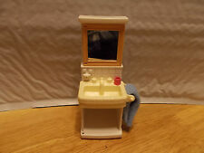 Fisher-Price Loving Family BATHROOM SINK & CABINET Dollhouse Furniture Parts