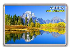 ASPEN COLORADO EEUU FRIDGE MAGNET SOUVENIR IMÁN NEVERA
