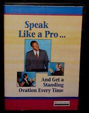Speak Like A Pro & Get A Standing Ovation Every Time Briefings DVD Public Speech