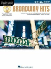 Instrumental PlayAlong Broadway Hits Trumpet Learn to Play Shows Music Book & CD