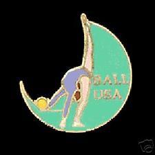 Usa Ball Rhythmic Gymnastics Lapel Pin - Interesting Cut Out Design