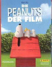 Peanuts - Der Film Sondersticker/Glitzerbilder v. Panini - Snoopy, Charlie Brown