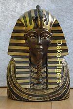 Tutanchamun Ägyptische Maske Büste Wandbild Pharao Relief Figur Kopf Wanddeko 11