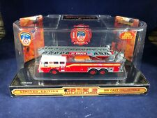 O-17 CODE 3 DIE CAST FIRE ENGINE - 1:64 SCALE -LADDER TRUCK 37 CITY OF NEW YORK