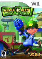 Army Men Soldiers Of Misfortune For Wii And Wii U Very Good 2E