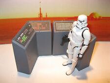 Star Wars Custom Cast Award Winning Diorama Part 3.75 Scale Control Console Set