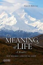 The Meaning of Life by Steven Cahn and E. D. Klemke (2017, Paperback)