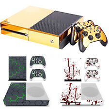 Vinyl Decal Skin Stickers Cover for Xbox One S Console + 2 Controllers