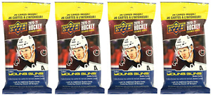 Lot of (4) Upper Deck 2020-21 NHL Hockey Fat Pack 26 Cards - Extended Series