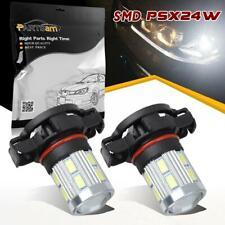 One Pair 2504 PSX24W 6000K High Power Led Bulbs Cree 5730 SMD Fog Driving Light
