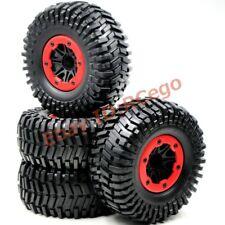 4pc RC 2.2'' Rock Crawler Tires Badland Off Road tyres & 2.2 Beadlock Wheels Rim