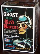 Atlantis M220  Tom Daniels Ghost of the Red Baron Skull plastic model kit 1/3