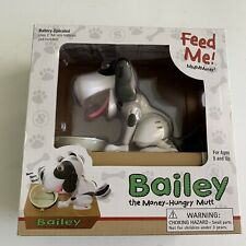 Bailey the Money-Hungry Mutt Electronic Doggy Bank NIB NEW