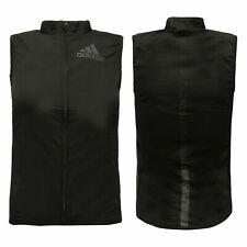 Adidas AdiZero Lightweight Zip Up Nylon Spandex Jacket Vest Womens B53765 A40E