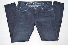 Bullhead Womens Solana Extreme Skinny Low-Rise Dark Blue Denim size 5S