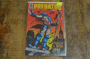 Predator #1 Dark Horse Comics Signed by Chris Warner NM 9.4 July 1989