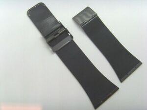 OBAKU Original Ersatz Milanaise V102GBBMB Uhrband watch strap schwarz black