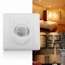 Motion Sensor Infrared Wall Mount Night Light Ir Body Detector Automatic Led