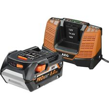 AEG 18V 6.0Ah Pro Lithium Battery And Charger Kit