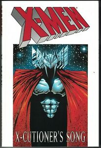 X-MEN X-CUTIONER'S SONG TP $24.95srp Peter David Jae Lee Andy Kubert 2001 NEW VF