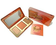 TOO FACED Sweet Peach Glow Peach-Infused Highlighting Palette Makeup Blush