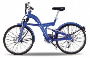 BMW Q5.T Bike, Welly Bicycle Model 1:10