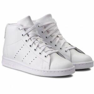 Adidas Originals Stan Smith Mid J Sneaker Junior Bianco