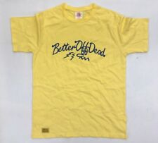 Buried Alive Ba Better Off Dead Bod Yellow T Shirt Streetwear Korea Hundreds M