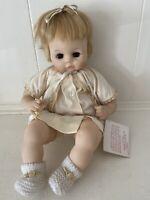 "Vintage 1960's Madame Alexander Baby Doll Blonde Pussy Cat 15"""