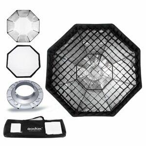 Godox 95cm Octagon Softbox Bowens Mount + Gitter + Tasche Set