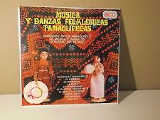Conjunto Tipico Tamaulipeco | Musica y danzas folkloricas |  LP SEALED NEW