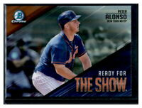 2019 Bowman Chrome Peter Alonso Ready for The Show RC Mets #RFTS-11 ROY
