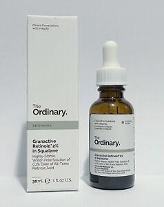 The Ordinary Granactive Retinoid 2% In Squalane 30ml New In Box