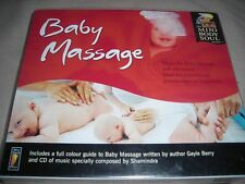 New Baby Massage CD by Shamindra infant music songs author Gayle Berry guide