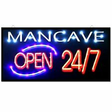 Mancave LED sign light bar display lamp neon style hang up electric wall UK NEW