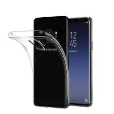 Samsung Galaxy S9 Handy Hülle Soft Case Silikon Cover Schutzhülle Transparent