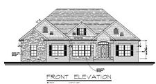 Custom House Plans 2162 square feet Brick and Stone Basement Ranch