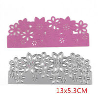 Flowers Metal Cutting Dies Stencil Scrapbooking Embossing Album Card Craft DIY