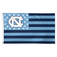 North Carolina Tar Heels Stars and Stripes NCAA Flag - Deluxe 3' X 5' UNC