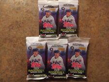 2020 Topps Series 1 Baseball Factory 6 Fat/jumbo Pack's 204 Cards Total