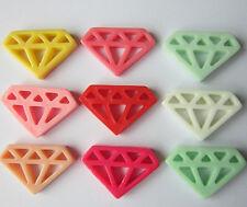 W246W Mobile Beauty Multi color 9 Pcs Diamonds DIY Cell Phone iPhone4 5/6S Case