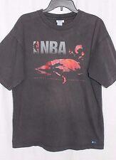 NBA Elevation National Basketball Association Black Cotton T Shirt L Large