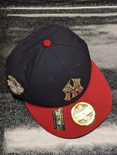 New Era New York Yankees 4th Of July American Flag Blue 59Fifty Fitted Hat 7 1/4