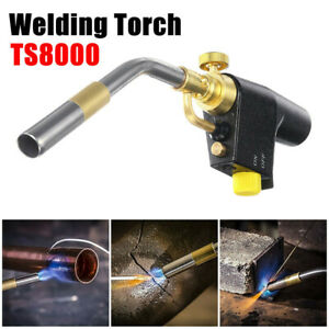 TS8000 Bernzomatic Style Blow Torch Kit Brazing Soldering Mapp Gas Map Tool