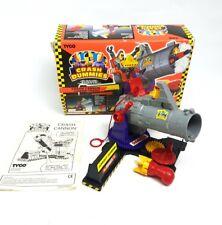 Antiguo ☆ Crash Cannon Crash Dummies Figura De Acción Vehículo ☆ En Caja Tyco 90s