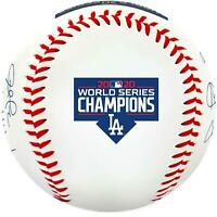 Los Angeles Dodgers 2020 WS Champs Fanatics Exclusive Replica Signature Baseball