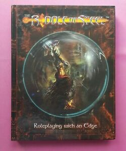 THE RIDDLE OF STEEL CORE BOOK - VERY RARE RPG ROLEPLAYING DRIFTWOOD ROLEPLAY