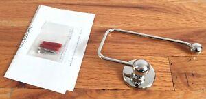 *NEW* Lefroy Brooks LB4932-NK Edwardian Paper Holder - Nickel Finish *OPEN BOX*